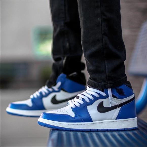 more photos a7076 f2172 Nike Air Jordan Retro 1 - size 13 - Game Royal